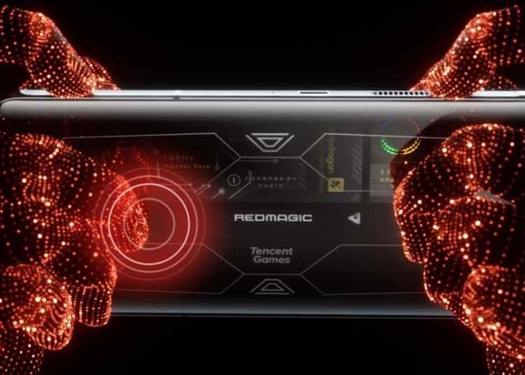 RedMagic 6S Pro 500Hz RedMagic waist key
