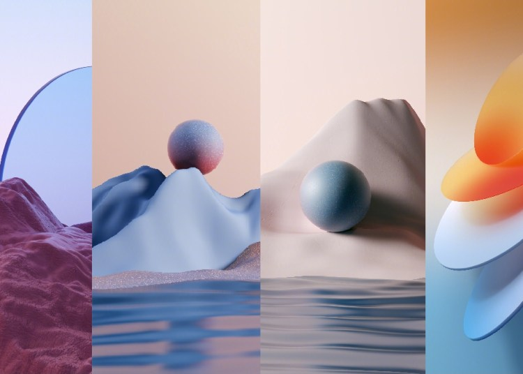 Oppo ColorOS 12 Wallpapers