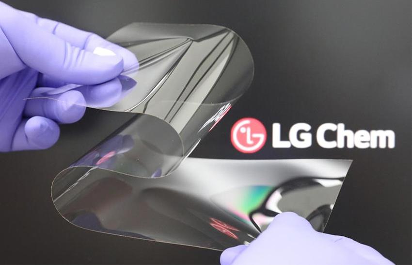 LG Foldable Display Technology