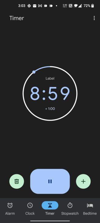 Google Clock Material You