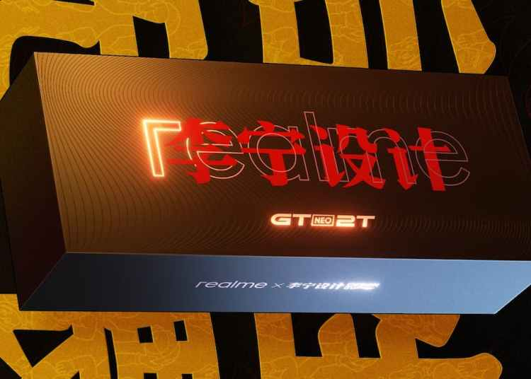 Realme GT Neo 2T Release Date and Time