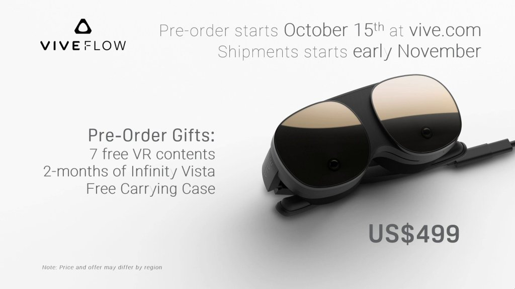 HTC Vive Flow VR Headset Price