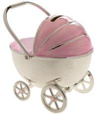 Baby Sparschwein Kinderwagen