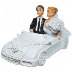 Spardose Auto Brautpaar