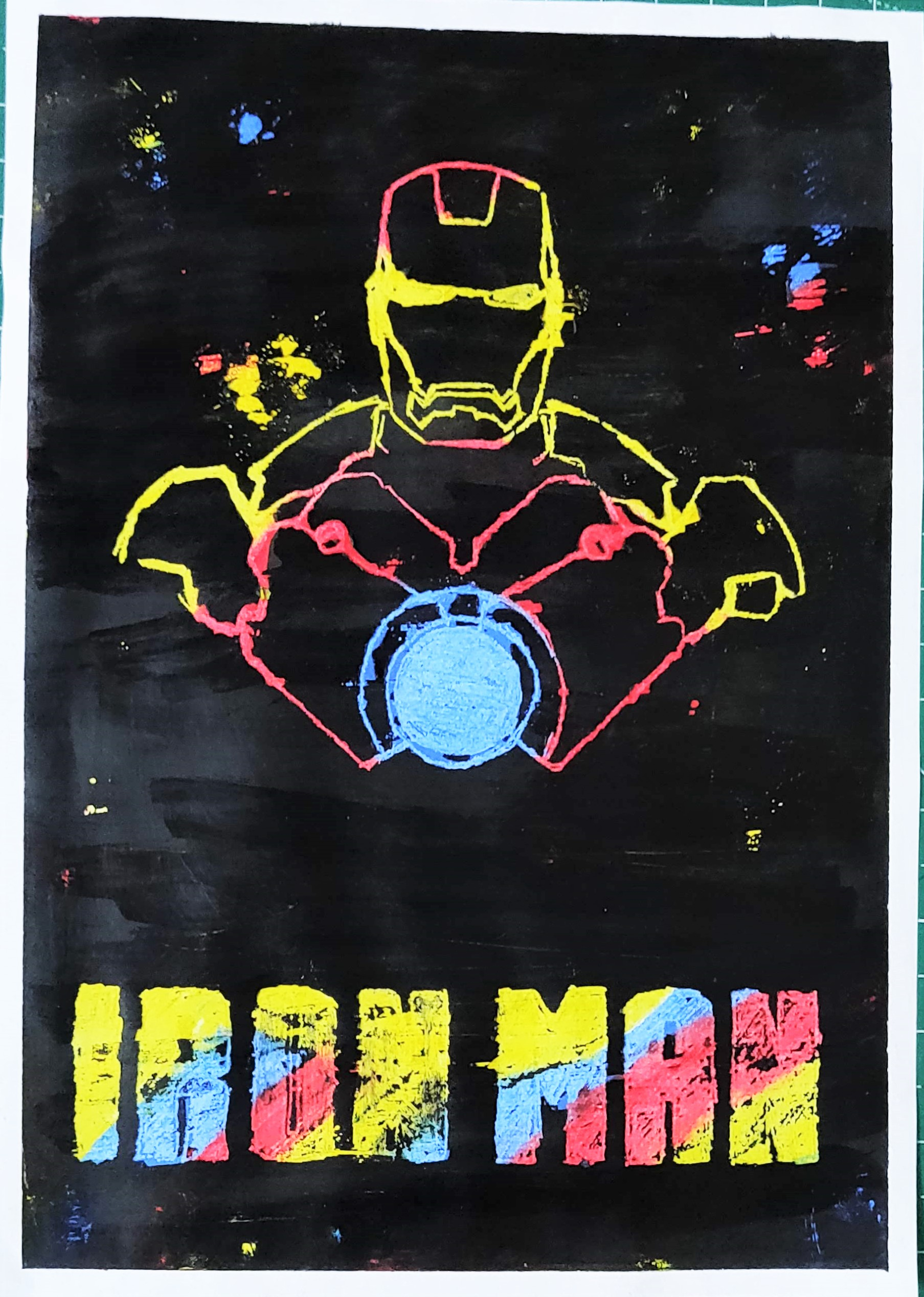 How to make an IRON MAN Poster