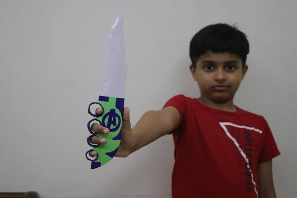How to make paper knife