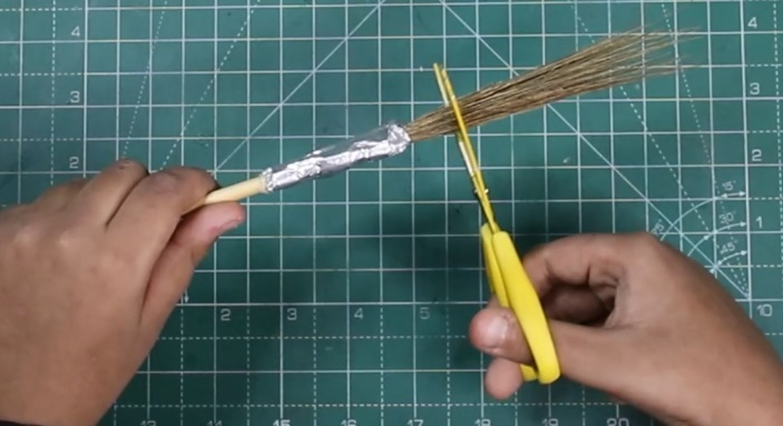 Paint Brush Made at home