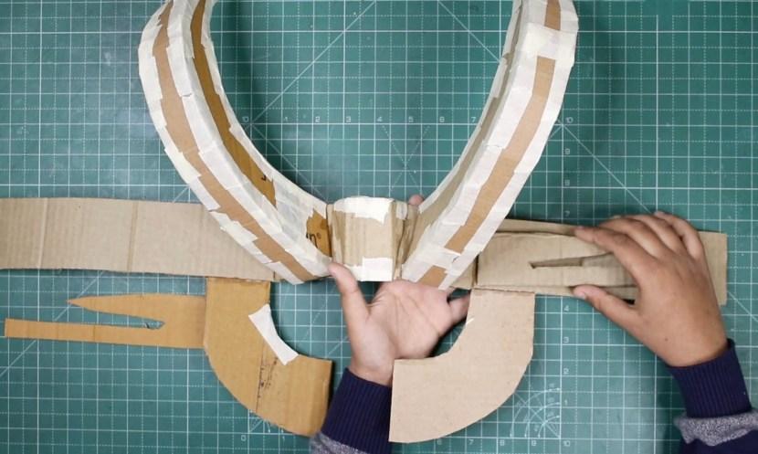 Loki Helmet Base detailing