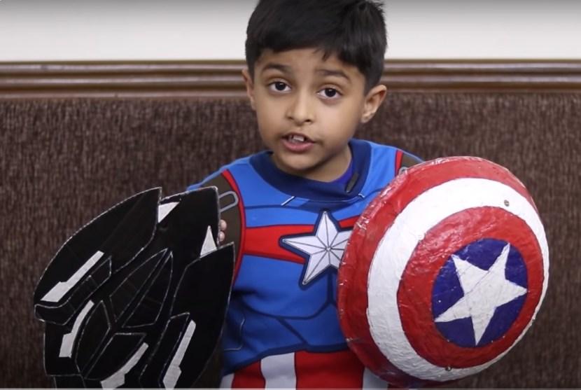 Captain America's Wakandan Shield