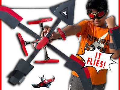 Falcon Red wing drone