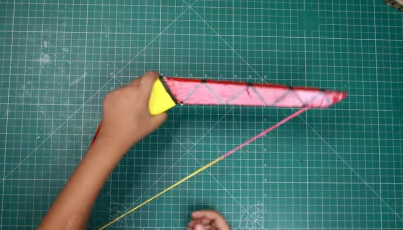 bow and arrow working