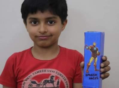 DIY Iron Man Pencil Box
