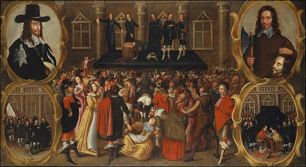 Image result for execution king charles 1