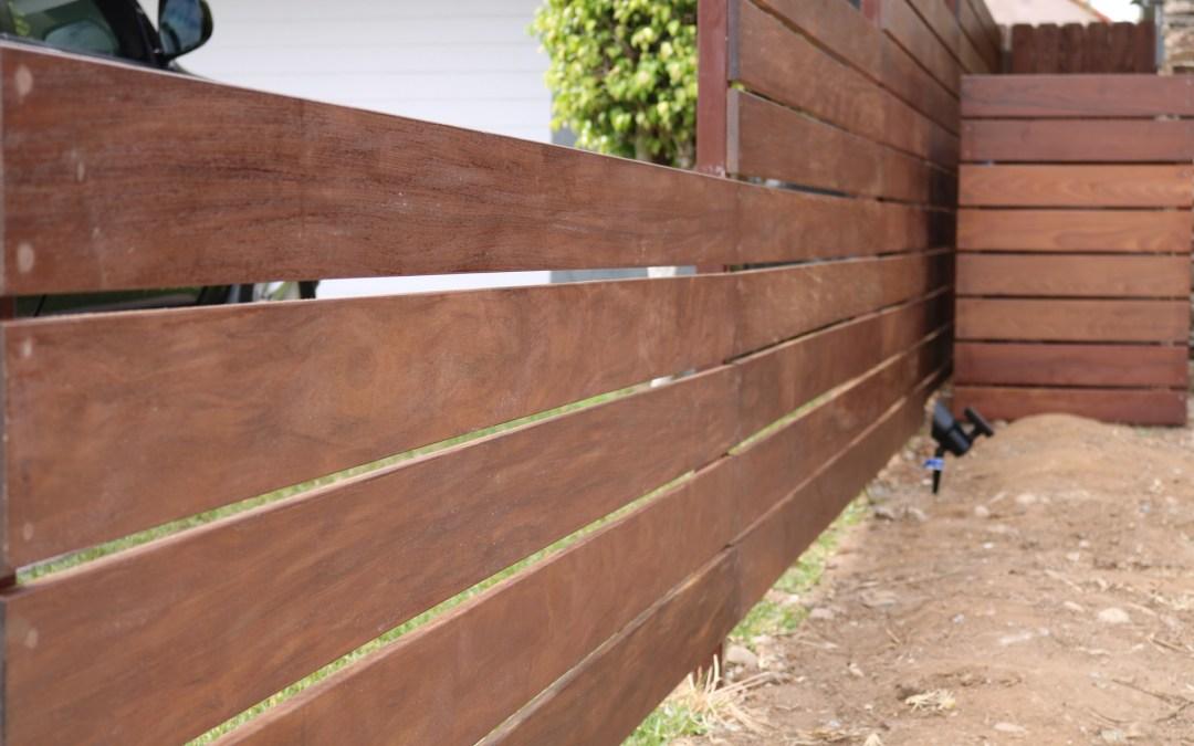 Wood Fence 4