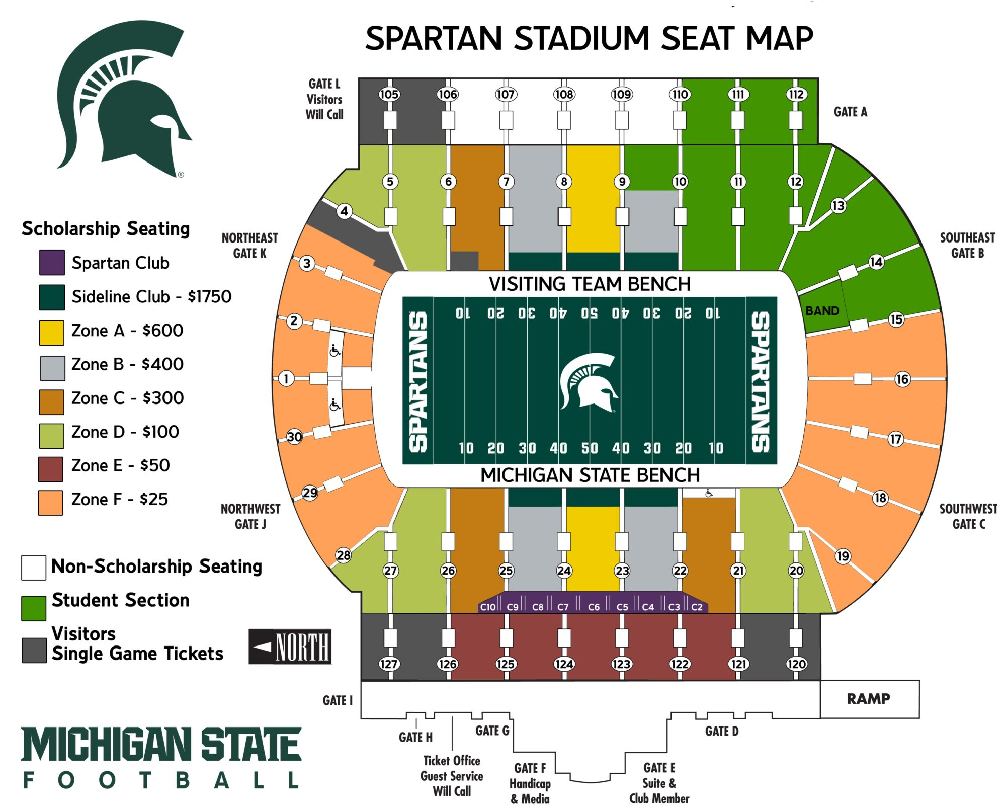 Spartan Stadium Parking