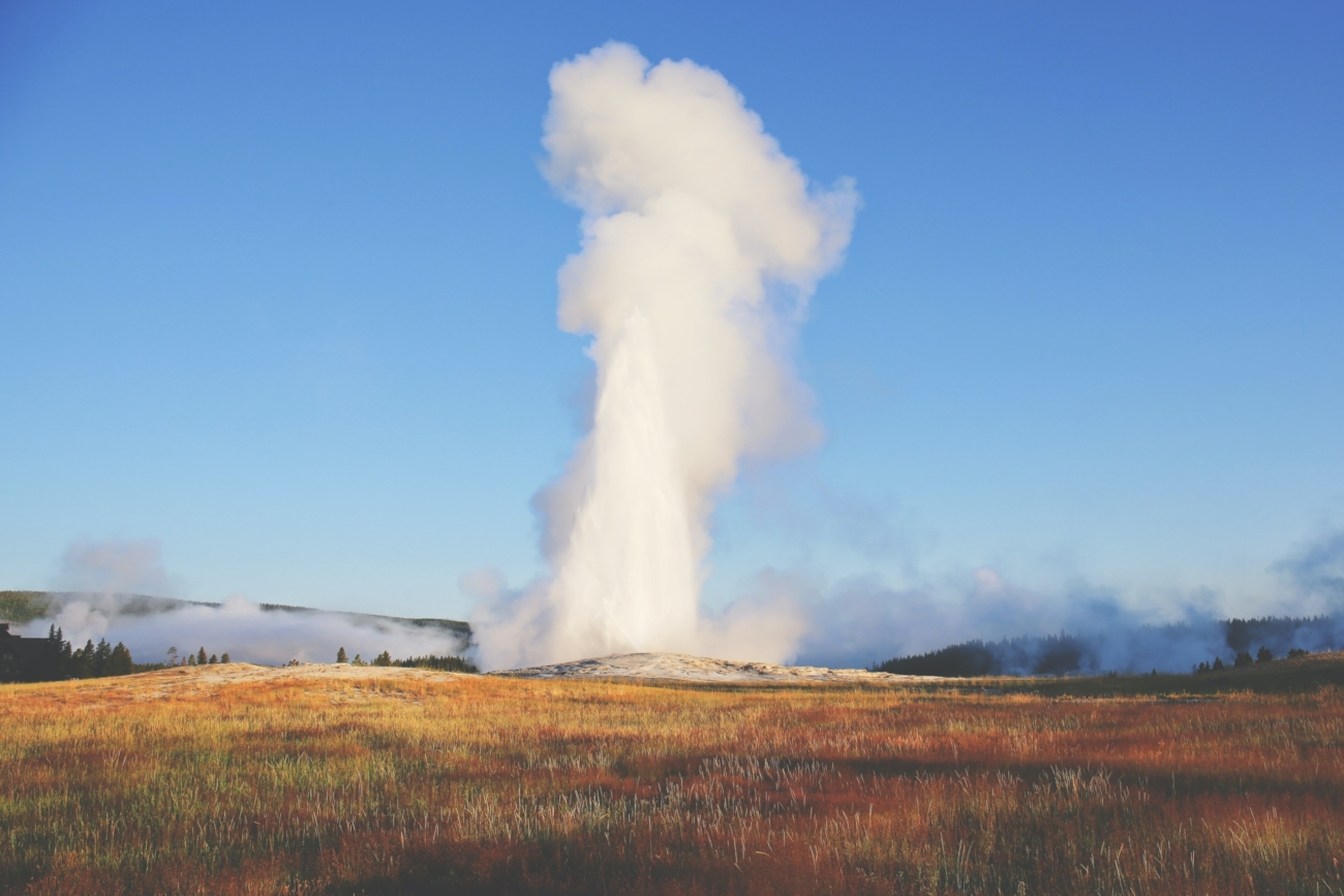 Old Faithful Geyser Is Famous For Its Regularity Use The