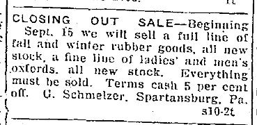 1927-9-10SchmelzerCloseSale