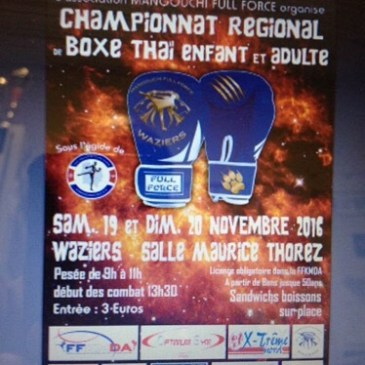 Championnat régional de Muay-Thaï