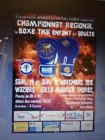 Championnat régional Muay Thaï
