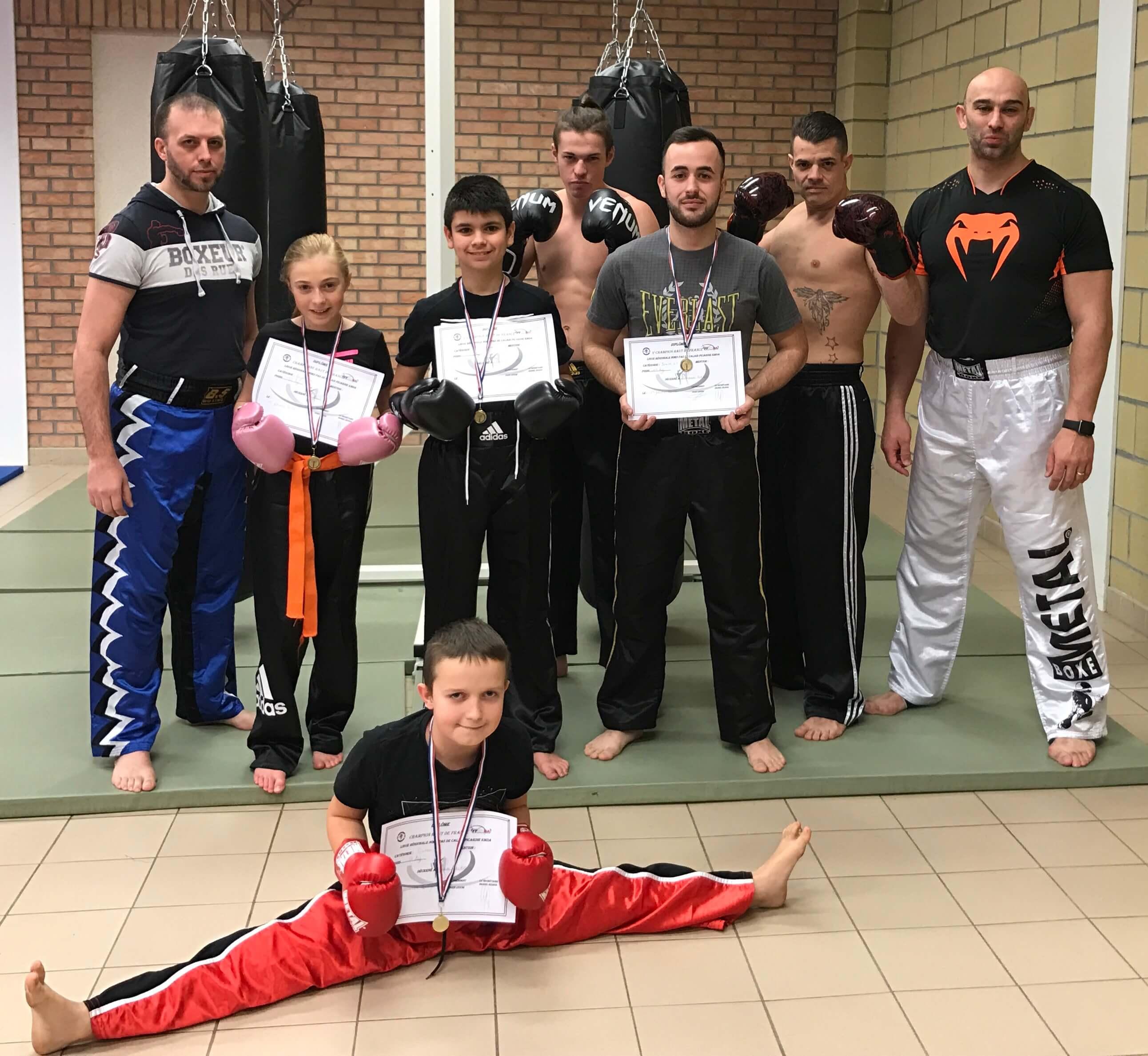 Championnat des Hauts de France de Kick-Boxing groupe 1