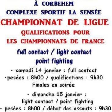 Championnat régional de kick-boxing groupe 1