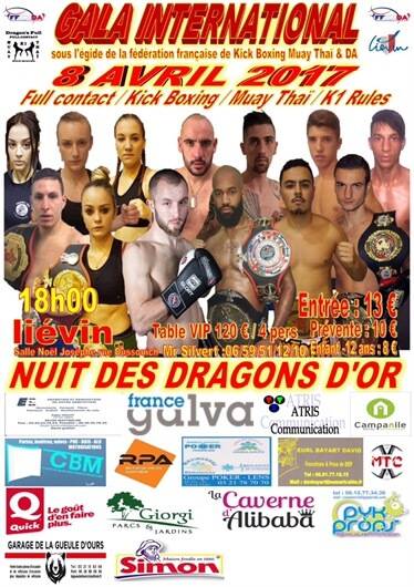 Nuit des Dragons d'Or