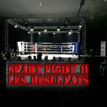 Spart'Fight 2, les résultats