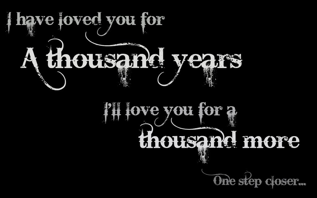 A Thousand Years - string arrangement