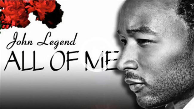 John Legend - All of Me - string quintet arrangement