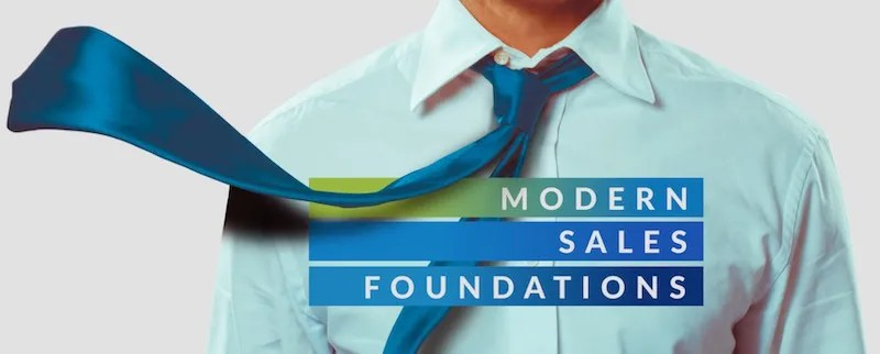 modern sales foundations virtual training