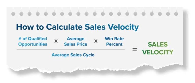 track sales metrics that matter most - sales velocity