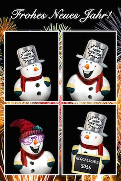 Die Spasskabine wünscht euch ein frohes neues Jahr