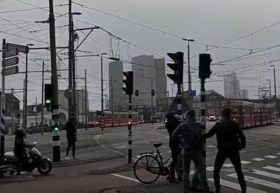 So tobte Sturm Friederike in Holland