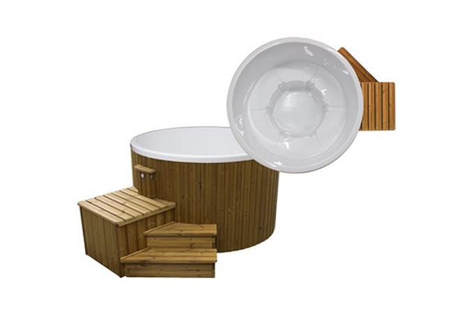 quand la baln o arrive chez vous un bain remous rien que pour vous. Black Bedroom Furniture Sets. Home Design Ideas