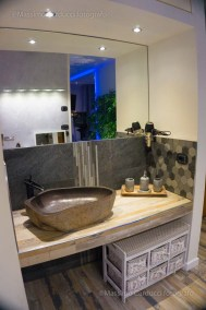 spa suite assisi lavabo in pietra
