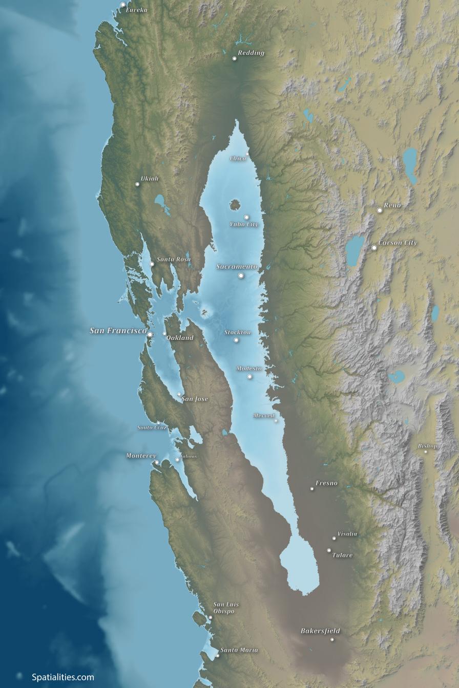 Sea Level Rise Maps | Spatialities