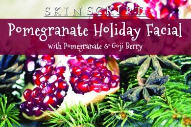 Get the Pomegranate Holiday Facial at Spatique Skin Care Overland Park KS 66223