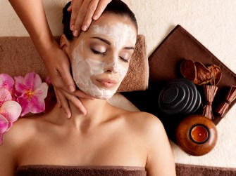 Ageless facial massage for women at Spatique Skin Care Overland Park KS