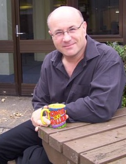 Simon Atkinson (the old Open University mug!)
