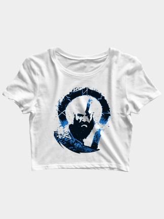 god of war kratos crop top india