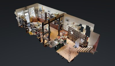 Teehaus Unna 3D Model