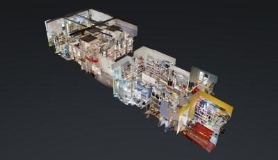 Papeterie Streiter – Weihnachtsausstattung 2018 3D Model