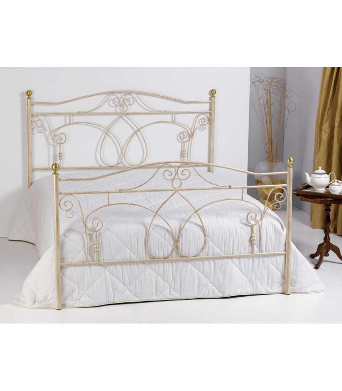 Camera da letto in stile shabby chic n.32 abitazioni shabby chic, letti misura. Letto Matrimoniale In Ferro Battuto Ester Spazio Casa