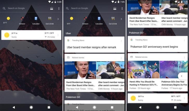 Nova Launcher integra Google Now | Download APK