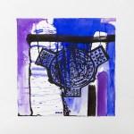 Coreografia d'arte: opera di Pilar Dominguez del ciclo Ombelico della citta su cui si ispira il lavoro coreografico di Francesca Cinalli - Spazio Tadini