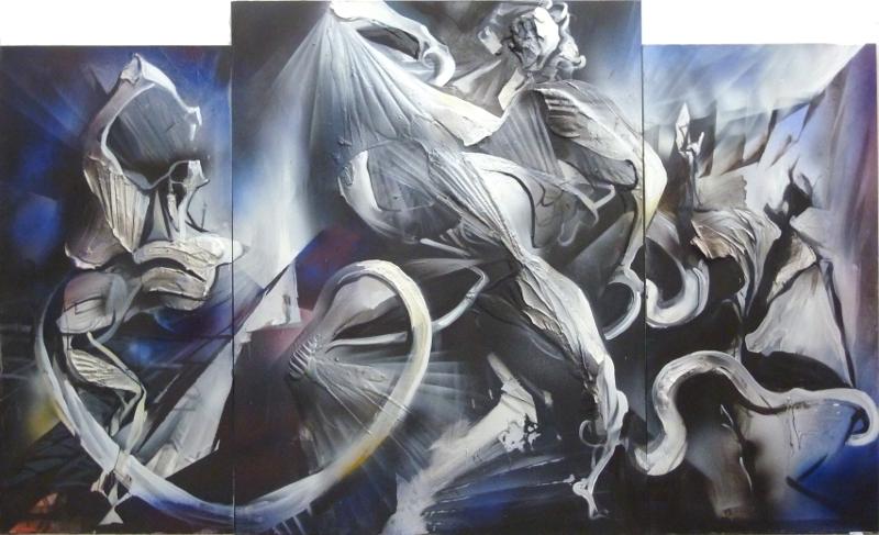 Laocoonte di Gabriele Poli, Spazio Tadini