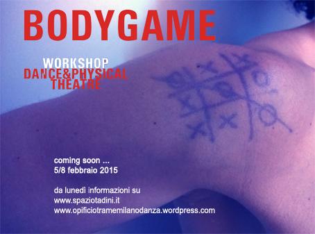 Danza, BodyGame, Workshop