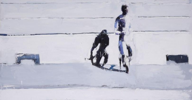 ALESSANDRA GIOVANNONI Canicola 2#, 2013 olio su tela cm 60x140