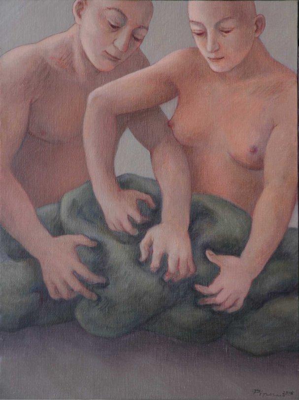 MARILISA PIZZORNOsonata per creta a quattro mani,2016