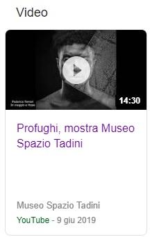 Profughi, VIDEO della mostra alla Casa Museo Spazio Tadini
